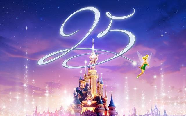 Disneyland Parijs bestaat 25 jaar!